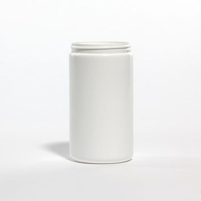 Picture of 32 oz White HDPE Wide Mouth Jar, 89-400, 56 Grams