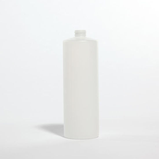Picture of 32 oz Natural HDPE Cylinder, 28-400, 52 Gram