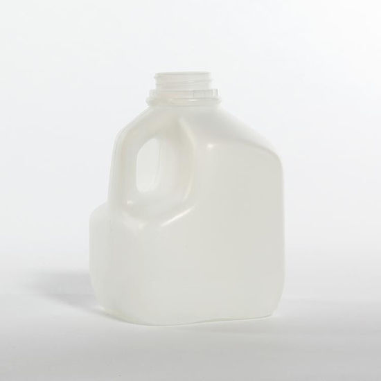 Picture of 32 oz Natural HDPE Square Dairy, 38-400, 35 Gram