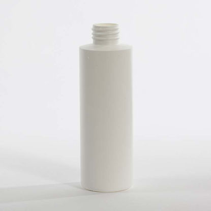Picture of 8 oz White HDPE Cylinder, 28-410, 21 Gram