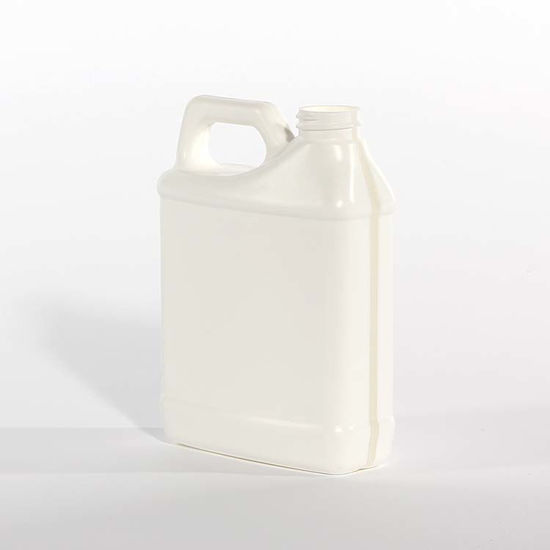 Picture of 16 oz White HDPE F-Style, 28-410, 43 Gram