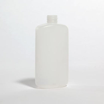 Picture of 8 oz White HDPE Oval, 24-410, 23 Gram