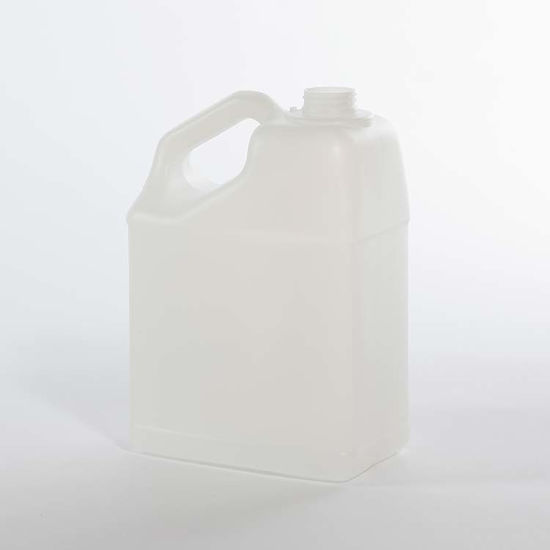 Picture of 128 oz Natural HDPE F-Style, 38-400, 140 Gram