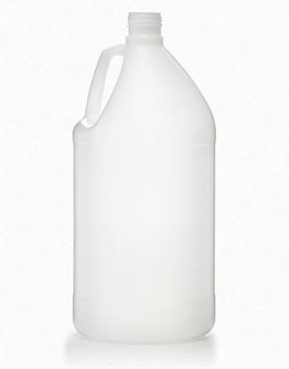 Picture of 4 liter Natural HDPE Round, 38-439, 180 Gram