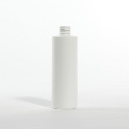 Picture of 8 oz White MDPE Cylinder, 24-410, 22 Gram