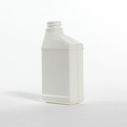 Picture of 8 oz White HDPE Ready to Use with View Stripe, 28-400, 25 Gram