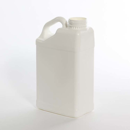 Picture of 5 liter White HDPE Slant Handle F-Style, 63 mm, 200 Gram