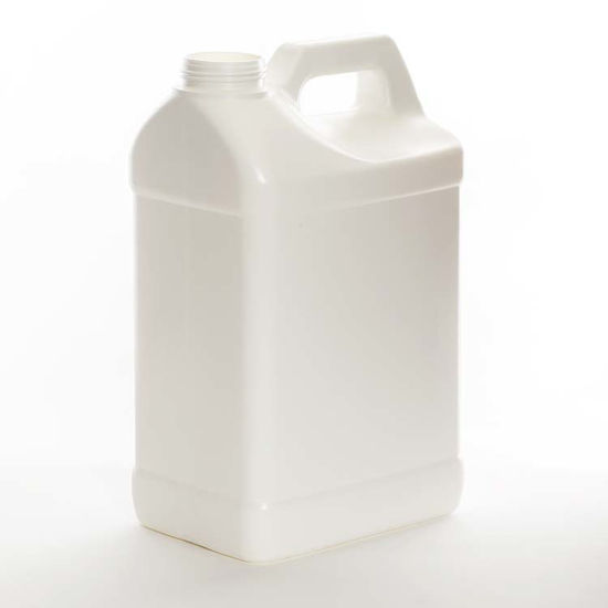Picture of 2.5 Gallon White HDPE F-Style, 63-485, 2x1, 330 Gram