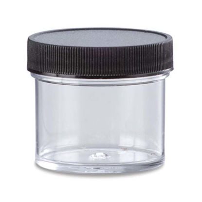 Picture of 1 oz Clear PS Straight Side Jar, 43-400