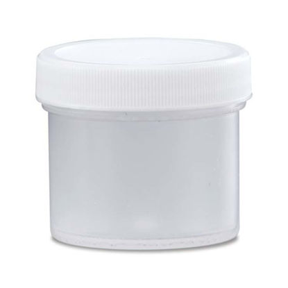 Picture of 2 oz Natural PP Straight Side Jar, 53-400