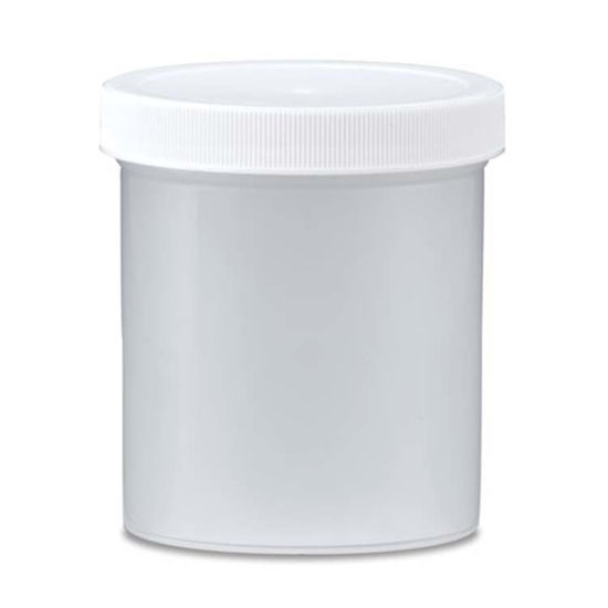 Picture of 16 oz Natural PP Straight Side Jar, 89-400