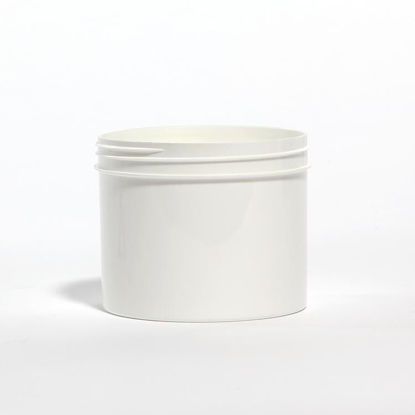 Picture of 32 oz White PP Straight Side Jar, 120-400