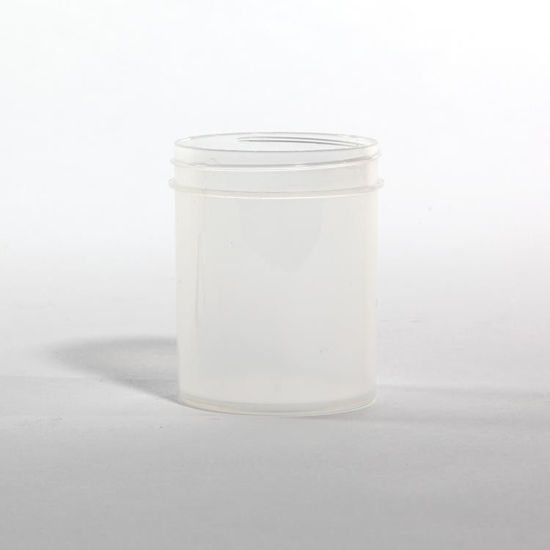 Picture of 4 oz Natural PP Straight Side Jar, 58-400