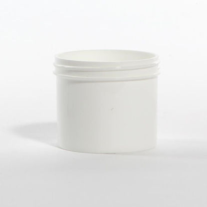 Picture of 4 oz White PP Regular Wall Jar, 70-400