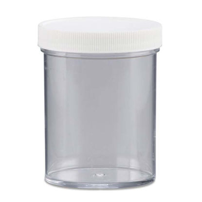 Picture of 8 oz Clear PS Straight Side Jar, 70-400