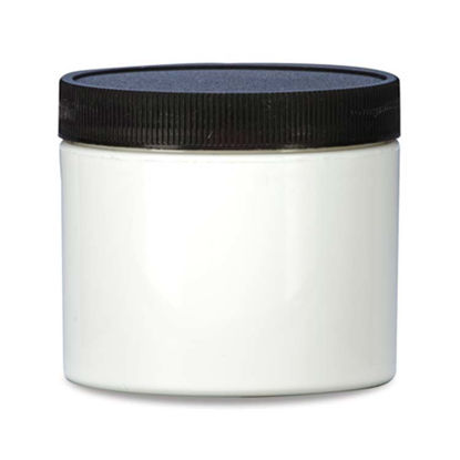 Picture of 4 oz White PP Wide Mouth Jar, 70-400