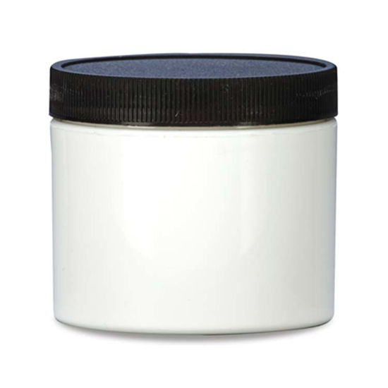 Picture of 8 oz White PP Straight Side Jar, 70-400