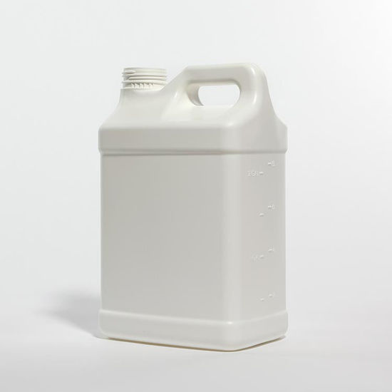 Picture of 2.5 Gallon White HDPE F-Style Trimline, 63-445, 350 Gram, Fluorinated Level 3
