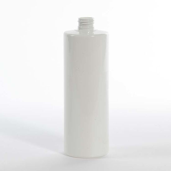 Picture of 16 oz White PVC Cylinder, 24-410, 34 Gram