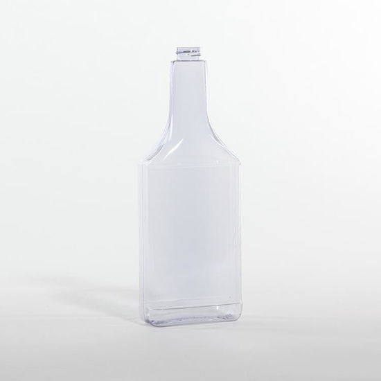 Picture of 16 oz Clear PVC Oblong, 22-400, 45 Gram