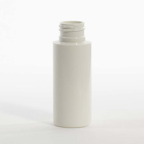 Picture of 2 oz White PVC Cylinder, 24-410, 8 Gram