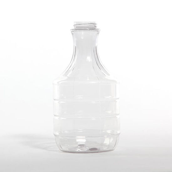 Picture of 32 oz Clear PVC Fluted Decanter, 38-400, 12x1, 77 Gram