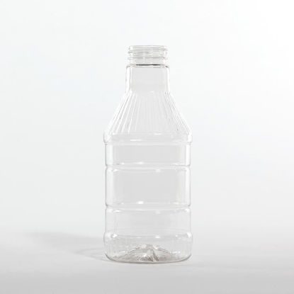 Picture of 28 oz Clear PET BBQ Decanter, 38-400