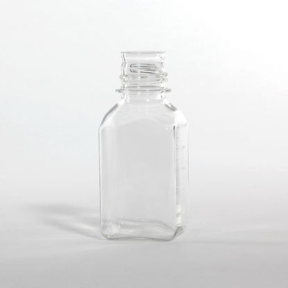 Picture of 250 ml Clear PETG Square, 38-430, 187 Gram