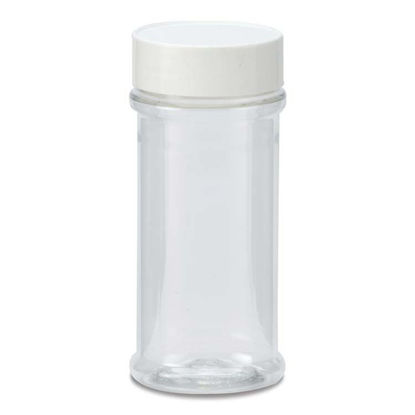 Picture of 8.4 oz Clear PET Spice Jar, 53-485, 32 Gram