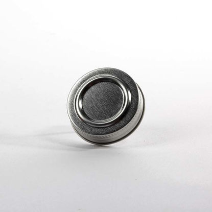 Picture of 43-485 White Metal Screw Cap (Unlined)