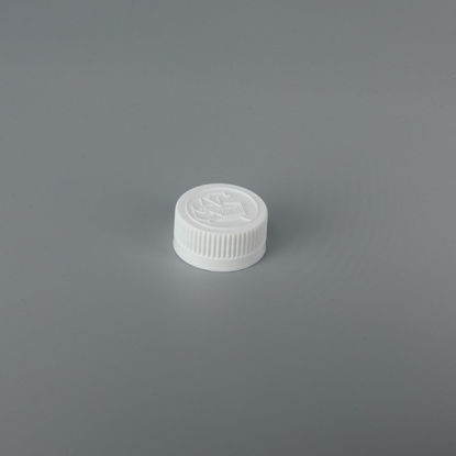 Picture of 28-400 White PP Child Resistant Cap with F828 & ISPE/PP.008 Plain Liner