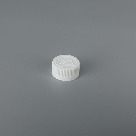 Picture of 28-400 White PP Child Resistant Cap with F828 & ISPE/PP.008 Printed Liner