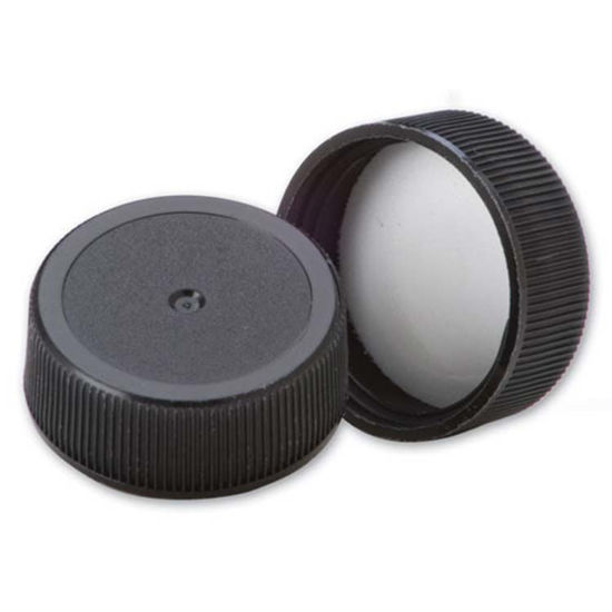 Picture of 28-400 Black PP Screw Cap w/ Sure Seal Liner