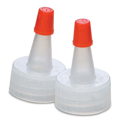 Picture of 20-400 Natural PP Spout Cap with Regular Red Tip
