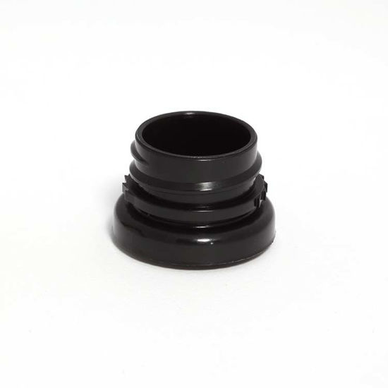 Picture of 28 mm Black Snap On Thread Coupling For Trigger Sprayer