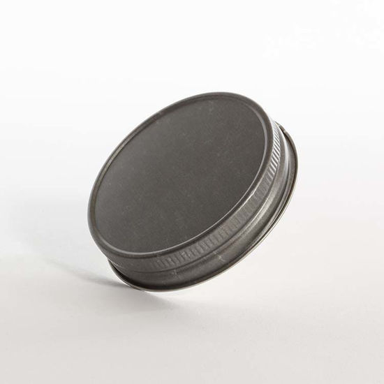 Picture of 70-450 Pewter Metal Lug/Twist Cap w/ Plastisol Liner