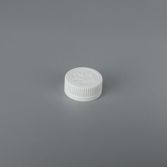 Picture of 33-400 White PP Child Resistant Cap with Lift N Peel E Liner