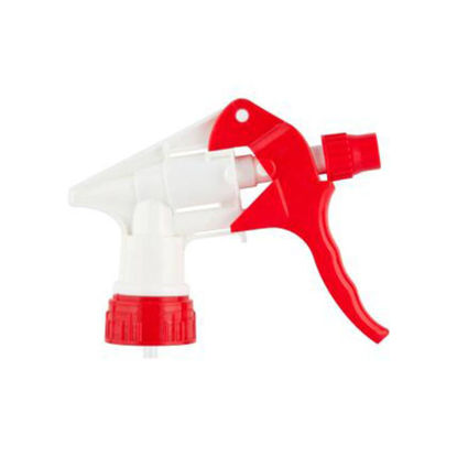"Picture of 28-400 Red/White Trigger Sprayer with 9.25"" Dip Tube"