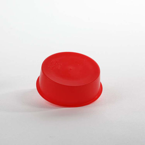 Picture of 51 mm Red LDPE Cap Plug Cap