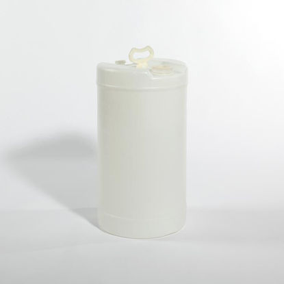 "Picture of 15 Gallon Natural Plastic Tight Head Drum with 2"" and 3/4"" Fittings, 1H1/Y1.8/100"