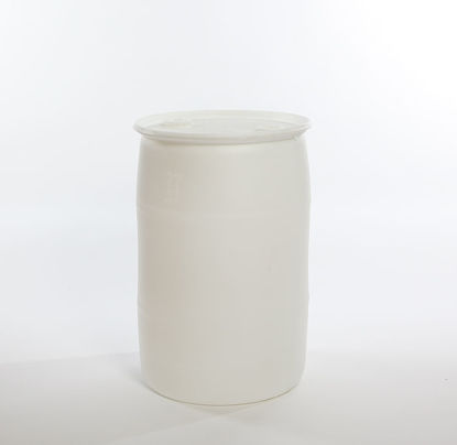 "Picture of 30 Gallon Natural Plastic Tight Head Drum, 2"" Buttress & 2"" NPT, 1H1/Y1.9/150"