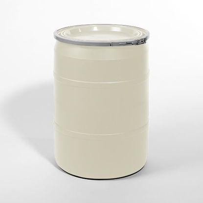 Picture of 25 Gallon Natural Plastic Open Head Drum, 1H2/Y75/S