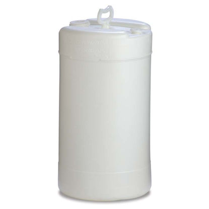 Picture of 15 Gallon Natural Plastic Tight Head Drum, 1H1/Y1.9/100