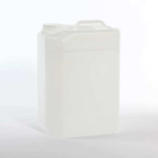 Picture of 10 liter Natural HDPE Square Tight Head, 70 mm, 3H1/Y1.8/100
