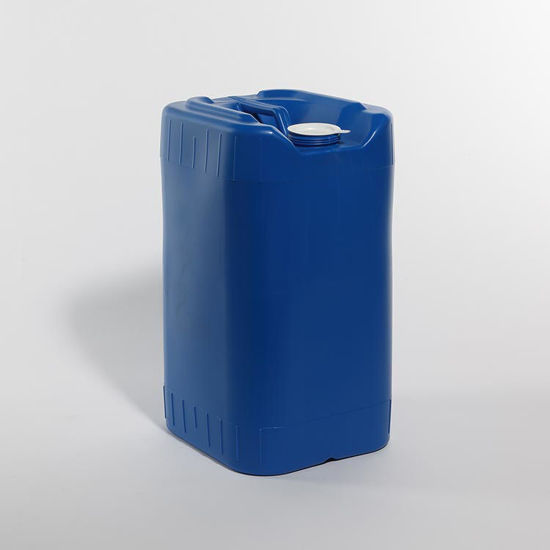 Picture of 7 Gallon Blue HDPE Square Tight Head, 70 mm, 3H1/Y1.8/100