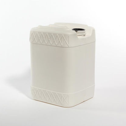 Picture of 20 liter White HDPE Square Tight Head, 70 mm & 22 mm Closed Vent, 3H1/Y1.8/100