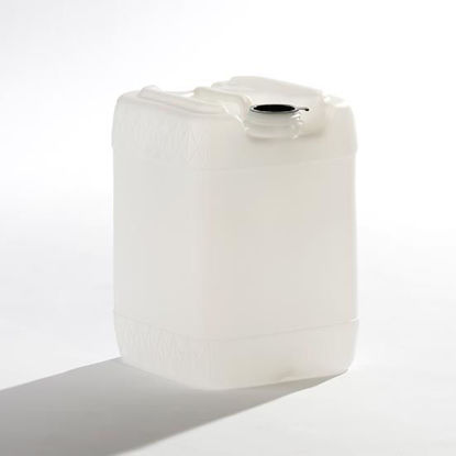 Picture of 20 Liter Natural HDPE Square Tight Head, 70mm & Closed Vent, 3H1/Y1.8/100