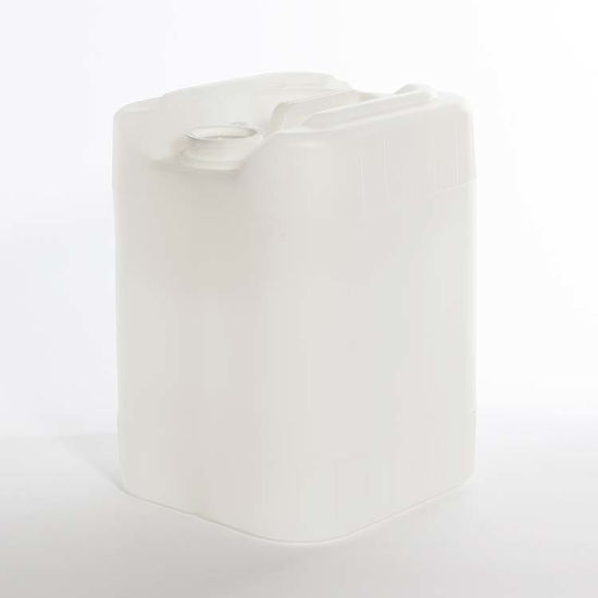 Picture of 5 Gallon Natural HDPE Square Tight Head, 70 mm Dust Cap & 22 mm Closed Vent, 3H1/Y1.8/100
