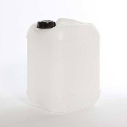 Picture of 10 liter Natural HDPE Square Tight Head, 51 mm Opening, 3H1/Y1.5/100