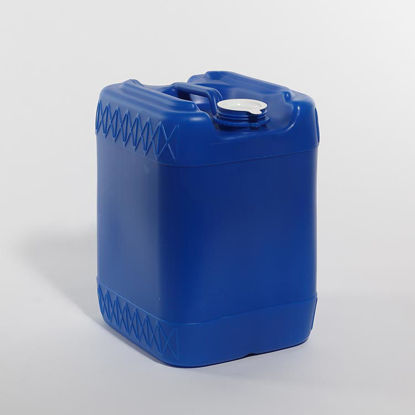 Picture of 20 liter Blue HDPE Square Tight Head, 70 mm & Closed Vent, 3H1/Y1.8/100